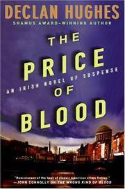 The Price of Blood*Signed w/ publishers material laid in*