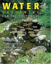 Water Gardening for the Southwest.