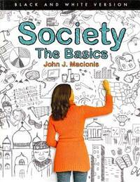 image of Society: The Basics (Black and White version) (12th Edition)