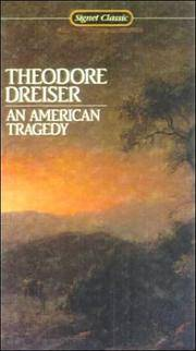 image of An American Tragedy (Turtleback School & Library Binding Edition) (Signet Classics)