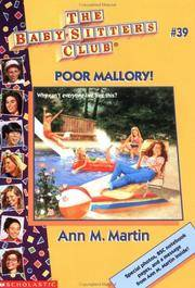 image of Bsc #39: Poor Mallory! (Baby-Sitters Club: Collector's Edition)