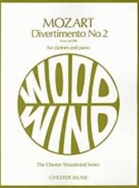 W.A. Mozart: Divertimento No.2 K.439b (Clarinet/Piano)