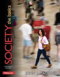 image of Society: The Basics (13th Edition)