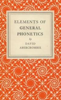 Elements of General Phonetics.