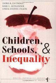 Children, Schools, And Inequality (Social Inequality S)