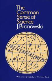 The Common Sense Of Science