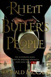 Rhett Butler's People by Donald McCaig - [ Edition: first ] - from BookHolders (SKU: 4094556)
