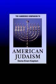 The Cambridge Companion to American Judaism (Cambridge Companions to Religion)