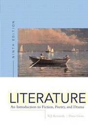 image of Literature: An Introduction to Fiction, Poetry, and Drama, Ninth Edition