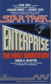 STAR TREK ENTERPRISE THE FIRST ADVENTURE  CASSETTE (Star Trek: All) by Vonda N. McIntyre  - 1988-03-15  - from Ergodebooks (SKU: SONG0671629514)