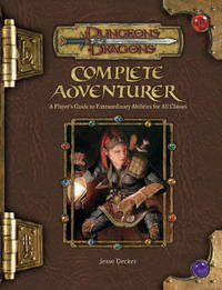image of Complete Adventurer (Dungeons and Dragons v3.5 Supplement): A Hero Series Supplement (Dungeons & Dragons: Accessory)