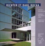 Richter Et Dahl Rocha (Contemporary World Architects) by  Compiled By; Richter Et Dahl Rocha Bureau D'Architectes  Oscar Riera - Paperback - 1st - 2000 - from JWMah and Biblio.com