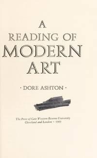 A Reading Of Modern Art