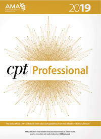 CPT Professional Edition 2019 (CPT / Current Procedural Terminology (Professional Edition)) by American Medical Association - Paperback - 2019 Professional Edition - 2019 - from BWB (SKU: 168)