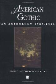 image of American Gothic: An Anthology 1787 - 1916