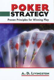 Poker Strategy: Proven Principles for Winning Play by  A.D Livingston - Paperback - 2004 - from The Book Cat (SKU: FS1390)