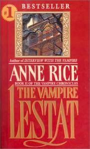 image of The Vampire Lestat (Vampire Chronicles (Paperback))