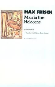 image of Man in the Holocene (Harvest Book)