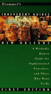 Frommer's Irreverent Guide: New Orleans