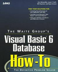 Waite Group's Visual Basic 6 Database How-To