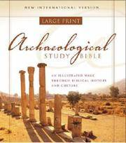 NIV Archaeological Study Bible, Personal Size: An Illustrated Walk Through Biblical History and...
