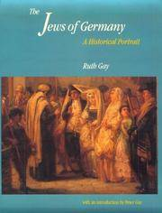 The Jews of Germany : a historical Portrait