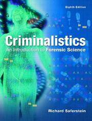 image of Criminalistics: An Introduction to Forensic Science- 8th