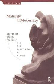 Maturity and Modernity
