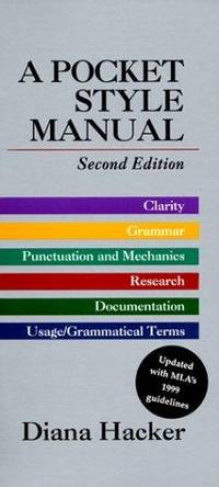 Pocket Style Manual: With MLA's 1999 Guidelines, Updated Edition