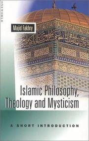 Islamic Philosophy, Theology, and Mysticism: A Short Introduction