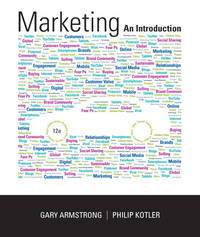 image of Marketing An Introduction by Gary Armstrong