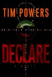 *Signed* Declare: A Novel (1st)