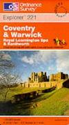 image of Coventry and Warwick, Royal Leamington Spa and Kenilworth (Explorer Maps)