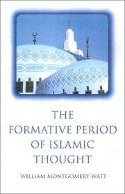 The Formative Period Of Islamic Thought