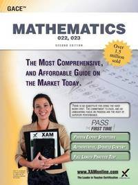 GACE Mathematics 022, 023 Teacher Certification Study Guide Test Prep