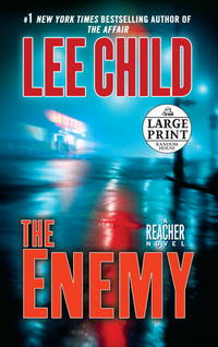 image of The Enemy: A Jack Reacher Novel (Random House Large Print)