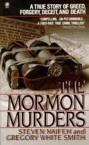image of The Mormon Murders (Onyx) [Illustrated]
