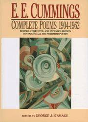 E.E. CUMMINGS: COMPLETE POEMS 1904-1962   (Revised, Corrected, and Expanded Edition Containing...