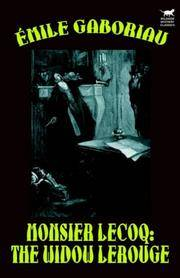 image of Monsieur Lecoq: The Widow LeRouge