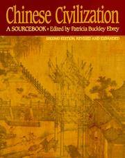 image of Chinese Civilization: A Sourcebook, 2nd Ed
