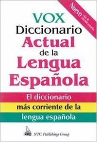 image of Vox Diccionario Actual De La Lengua Espanola