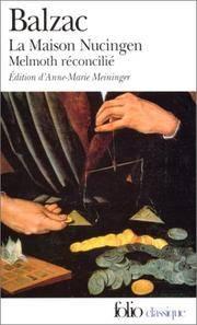 image of La Maison Nucingen: Precede de Melmoth Reconcilie (Folio Classique) (French Edition)