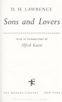 Sons and Lovers by  David Trotter D. H. Lawrence - from BooksAndMisc and Biblio.com
