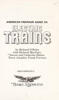 American Premium Guide To Electric Trains