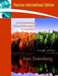 image of Environmental and Natural Resource Economics: International Edition