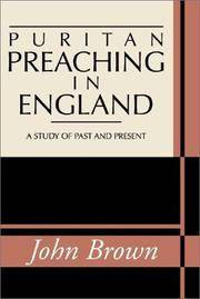Puritan Preaching In England