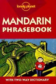 Mandarin Phrasebook (Lonely Planet)