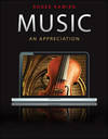 image of Music: An Appreciation with 5 Audio CD set