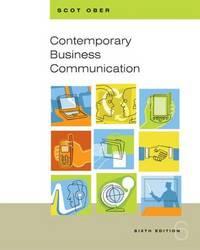 Contemporary Business Communication