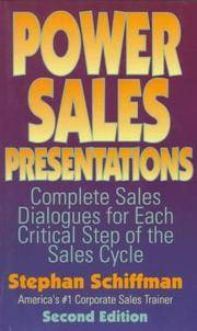 Power Sales Presentations